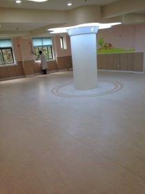 成都红牌楼社区医院PVC地板案例