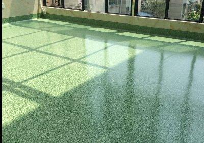 崇州宣怀骨科医院PVC地板胶完工(3800㎡)